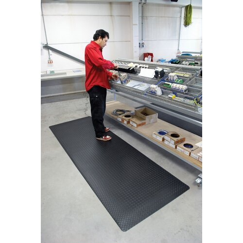Superior Manufacturing Diamond Stat Anti-Static Floor Mat