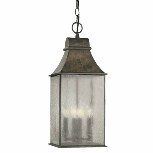 World Imports Outdoor 4 Light Hanging Lantern