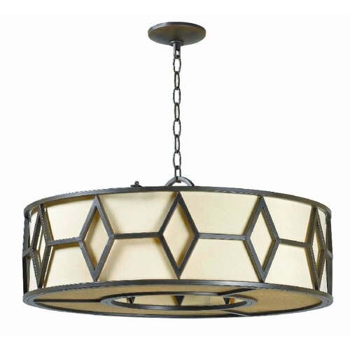 Decatur 5 Light Drum Foyer Pendant
