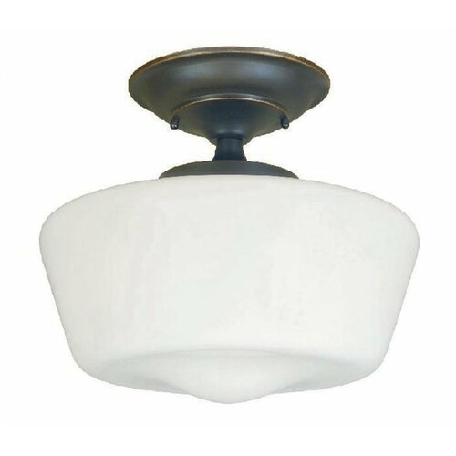 Luray 1 Light Semi Flush Mount