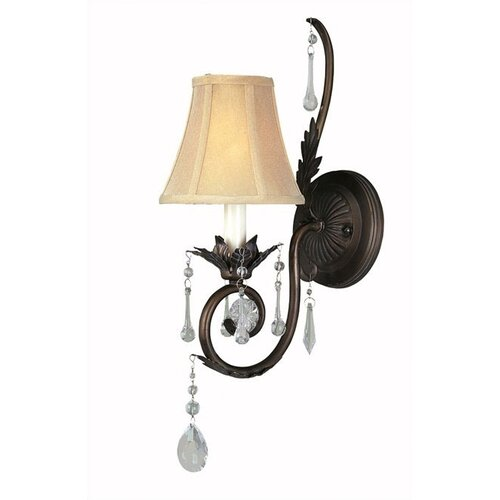 World Imports Berkeley Square 1 Light Wall Sconce