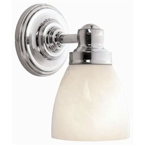 World Imports Bath Collection 1 Light Wall Sconce