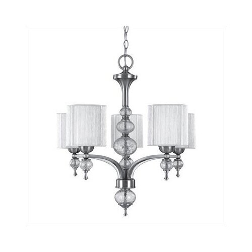 Uptown 5 Light Contemporary Chandelier