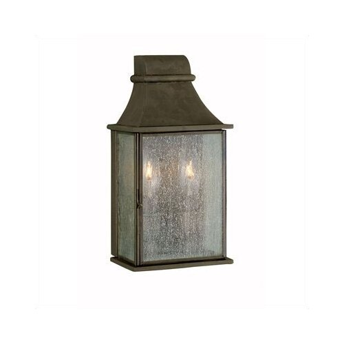 World Imports Outdoor 2 Light Wall Mount Lantern