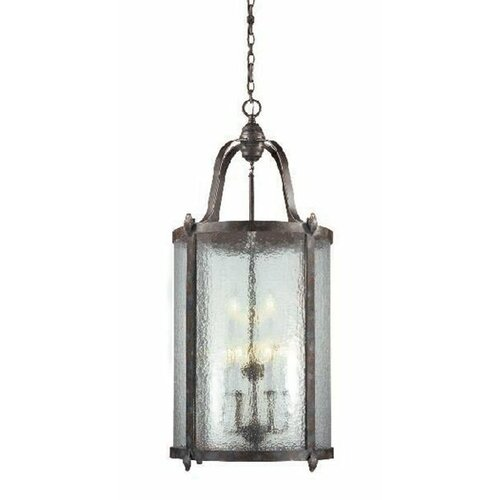 World Imports Old World Charm 9 Light Hanging Lantern