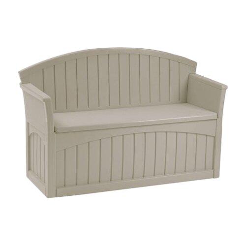 Suncast 50 Gallon Patio Storage Bench Reviews Wayfair