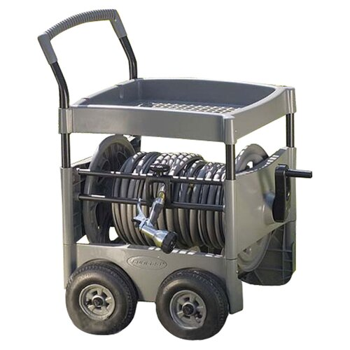Steel-Core Hose Reel Cart