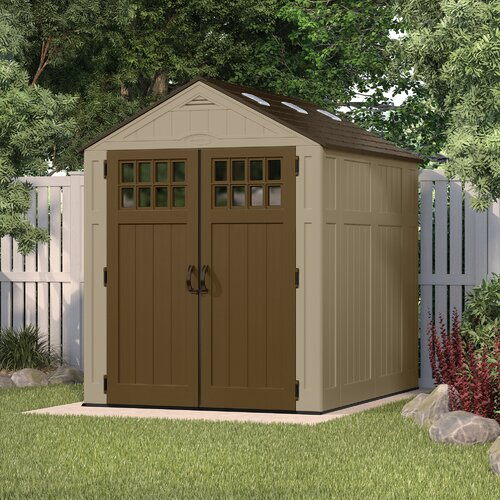 Durable resin sheds wayfair for Resin garden shed