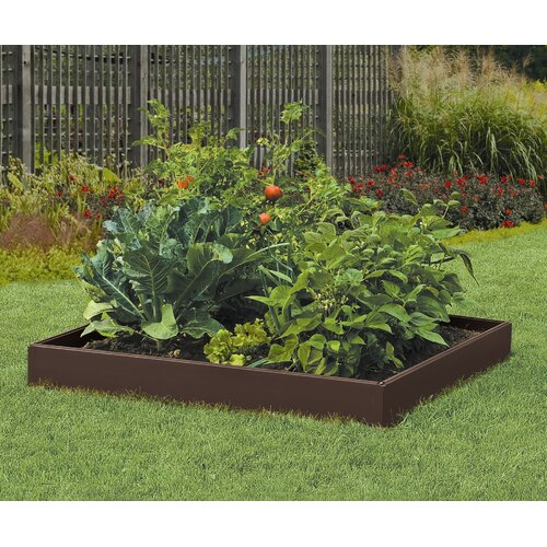 Suncast 4-Panel Raised Garden Bed