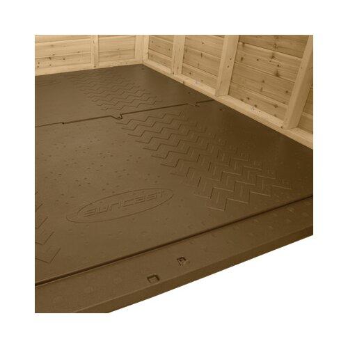 Suncast 8 Ft. W x 8 Ft. D American Wood Storage Shed