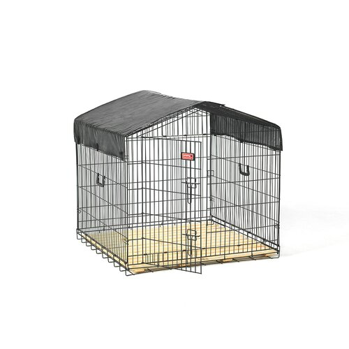 Lucky Dog Travel Steel Yard Kennel