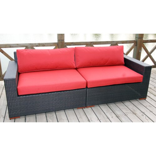 Pasadina Deep Seating Sofa with Cushions