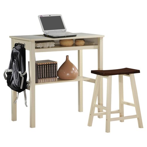 New Spec Inc Writing Desk with Chair
