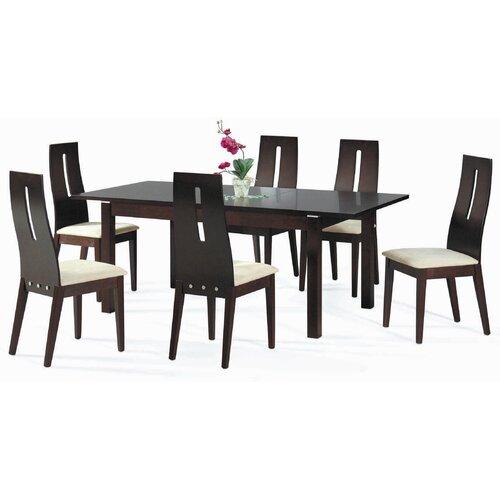 New Spec Inc Cafe-30 Soho 7 Piece Dining Set