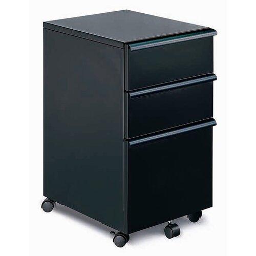 New Spec Inc 3-Drawer Mobile MP-03 File Cabinet