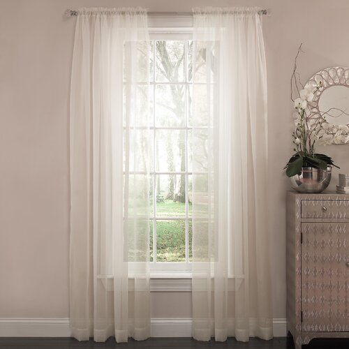 Arm & Hammer® Curtain Fresh™ Rod Pocket Curtain Single Panel