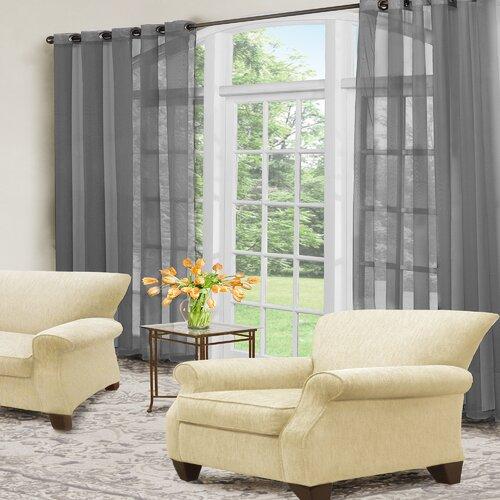 Arm & Hammer® Curtain Fresh™ Eyelet Curtain Panel