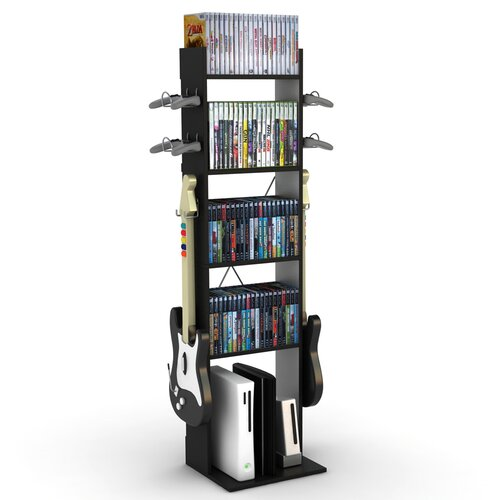 Game Central Tall Storage Rack