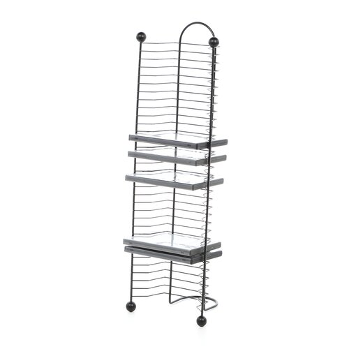 32 DVD/Blu-Ray Multimedia Nestable Wire Rack