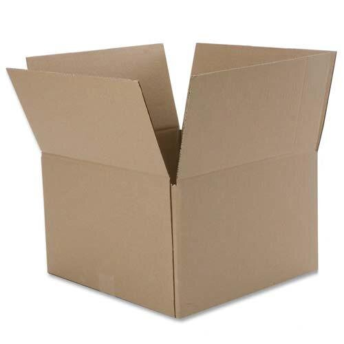 Caremail 100% Recycled Storage/Mailing Box, 15w x 12d x 10h, Ltr/Lgl, Brown, 12/Pack