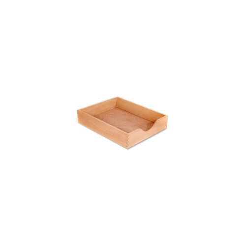 Carver Wood Products, INC. Wood Desk Tray, Letter Size
