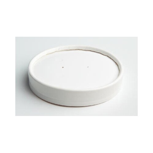 Chinet Vented Paper Lids for 8 - 16 oz Cups in White