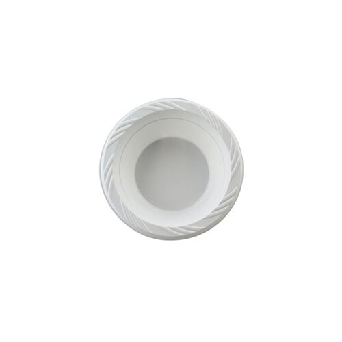 Chinet 12 Ounces Round Plastic Bowls in White