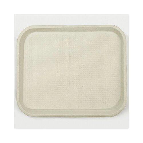 Chinet Savaday Molded Fiber Food Rectangular Trays in White