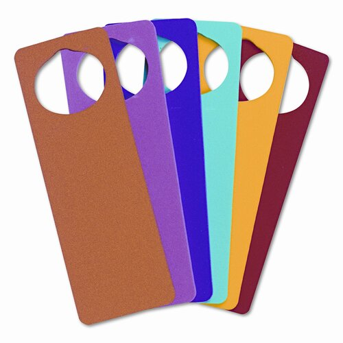 Creativity Street® WonderFoam Door Knob Hangers, 6 Asst Colors