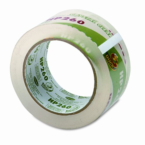"Duck® Carton Sealing Tape 1.88"" x 60 Yards, 3"" Core, Clear"