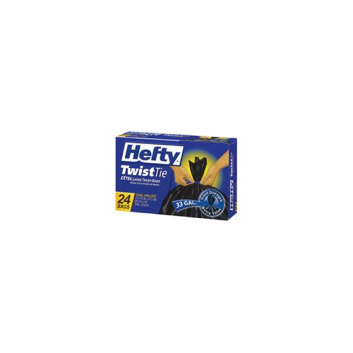 Hefty 33 Gallon Twist Tie Bag 24/box