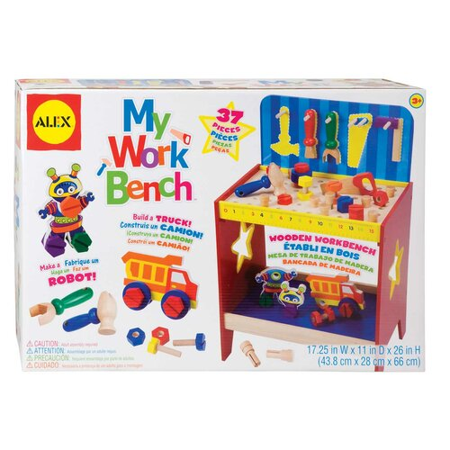 ALEX Toys My Work Bench Play Set