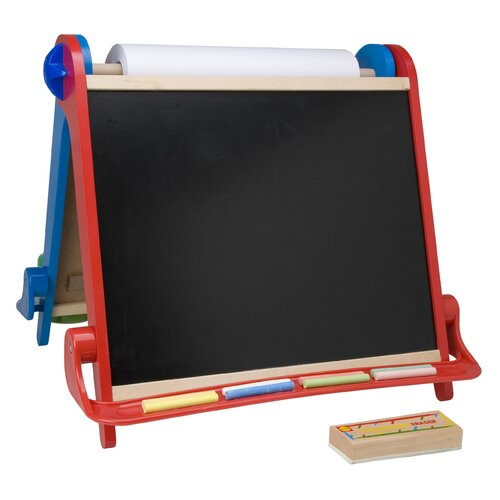 ALEX Toys Magnetic Tabletop Easel 1.42' x 1.56' Chalkboard