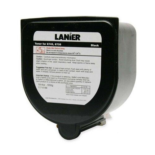 Lanier 1170188 Copy Toner for Lanier 6745/6735, 18750 Page Yield, Black