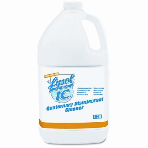 Lysol Brand I.C. Quaternary Disinfectant Cleaner, 41 Gal Bottles/Carton