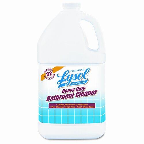 Lysol Professional Brand Heavy-Duty Bath Disinfectant, 4/Carton
