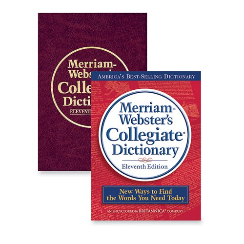 "Merriam-Webster Hardback Collegiate Dictionary,11th Edition,1664 Pgs,7-1/4""x9-7/8"",BY"