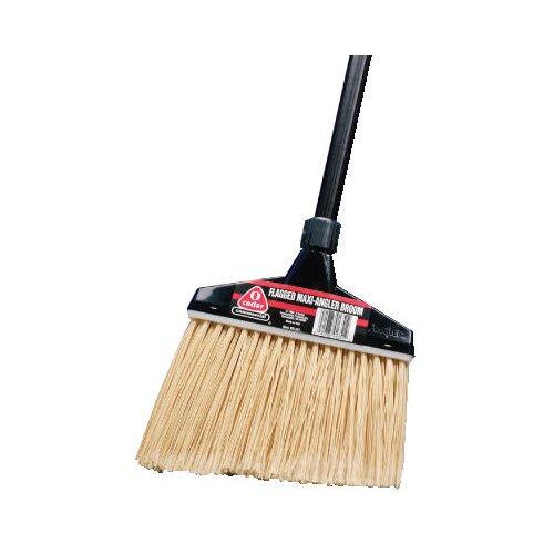 O-Cedar Maxi-Angler Broom in Black