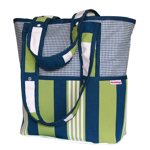Hoohobbers Lacrosse Personalized Tote Diaper Bag