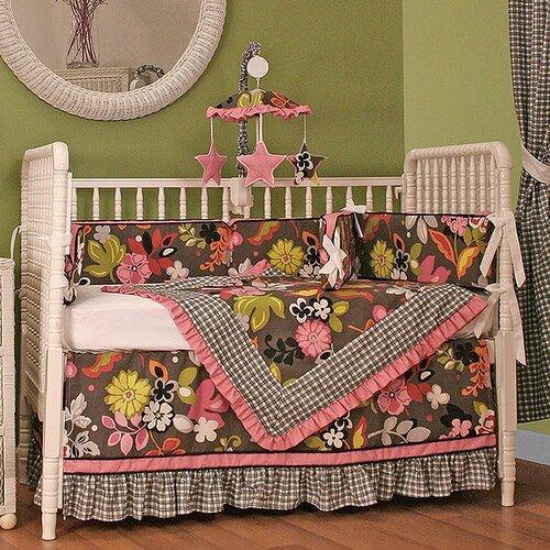 Sleek Slate Crib Blanket