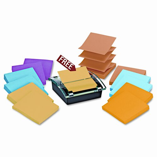 Post-it® Pop-Up Note Super Sticky Dispenser Value Pack