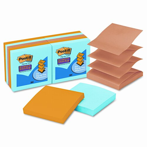 Post-it® Pop-Up Notes Super Sticky Pop-Up Notes Pad