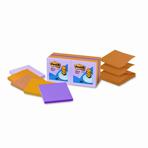 Post-it® Pop-Up Refill Note Pad, 3 X 3