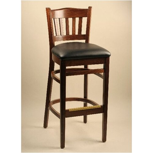 "Alston Classico 30"" Bar Stool with Cushion"