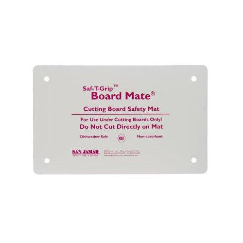 San Jamar Saf-T-Grip Board-Mates in White