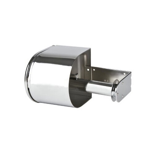 San Jamar Covered Reserve Roll Toilet Tissue Dispenser in Chrome