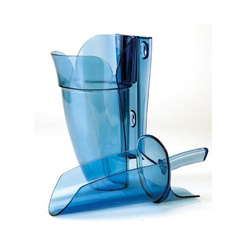 Saf-T-Scoop and Guardian System for Ice Machine in Blue