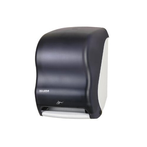 San Jamar Smart System with IQ Sensor Towel Dispenser in Black Pearl