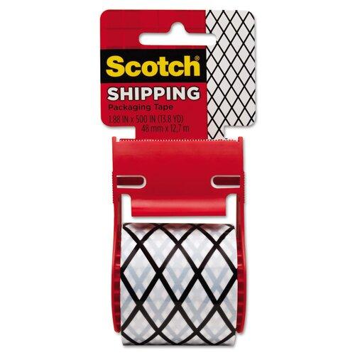 "Scotch® 1.88"" x 500"" Diamond Decorative Tape"