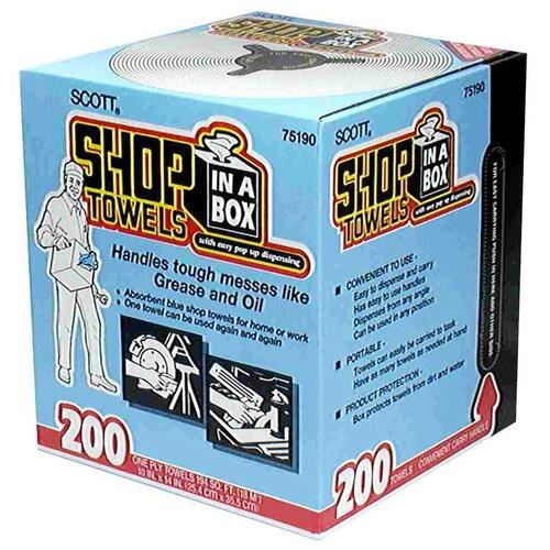 Scott Shop Towels In-A-Box